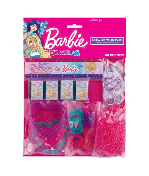 """Barbie Mermaid"" Assorted Party Favors, 48 Ct."