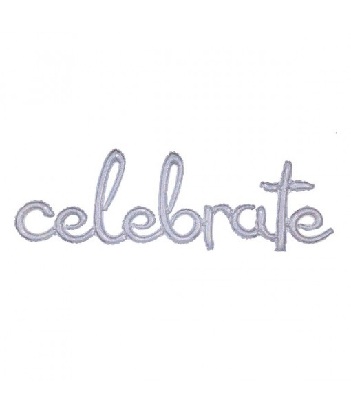 """""""Celebrate"""" Party Letter Balloon 20"""" x ..."""