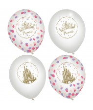 """Disney Princess"" Assorted Latex Confetti Balloons, ..."