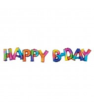 """Happy Bday"" Party Letter Balloon 10"" ..."