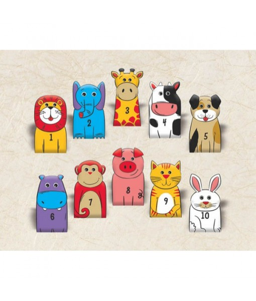 """""""100th Day Of School"""" Party Finger Puppets, 2 7/8"""" x 1 5/8"""", 100 Ct."""