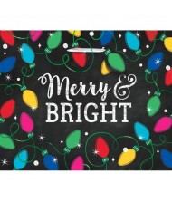 """""""Merry Bright"""" X-Large Horizontal Bag with ..."""