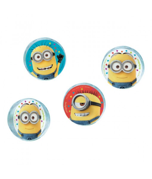 """Despicable Me"" Assorted Party Favor Bounce Balls, 4 Ct."