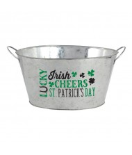 """Lucky"" St. Patrick's Day, Metal Tub, ..."