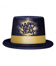 """""""Happy New Year"""" Midnight Top Hat, ..."""