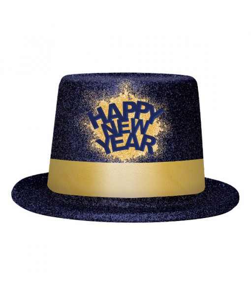 """""""Happy New Year"""" Midnight Top Hat, 5"""""""