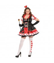 Adult Charmed Queen Costume - Plus ...