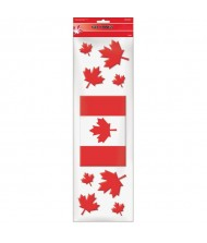 """Canada Day"" Party Decoration Gel Clings"