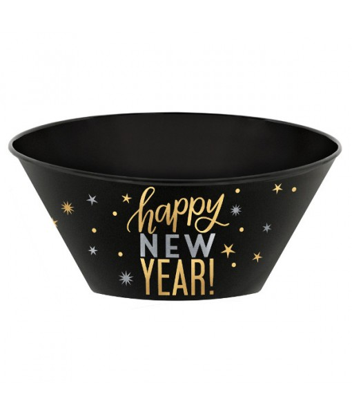 """Happy New Year!"" Serving Bowl, 120 oz."