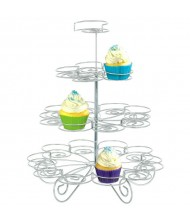 "4-Tier Wire Mini Cupcake Stand|11"" x12""