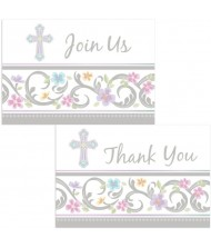 Blessed Day Invite & Thank You ...