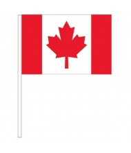 """""""Canada Day"""" Party Flags, 4"""" x ..."""