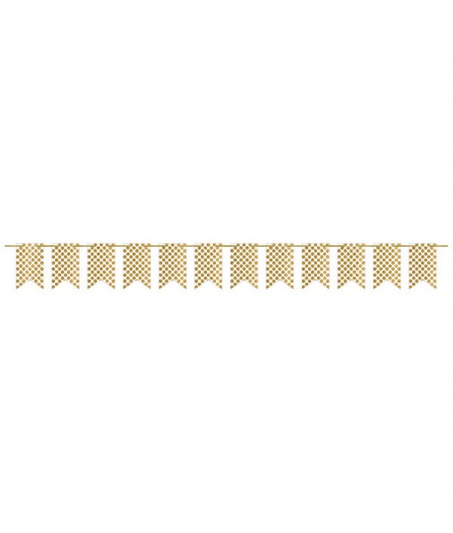 Glitter Dots Design Pennant Party Banner ...