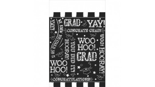 Hooray Grad Table Cover | Party ...