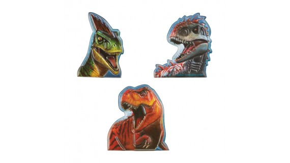 """""""Jurassic World"""" Assorted Party Favor Finger Puppets, 12 Ct."""