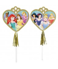 """Disney Princess"" Metallic Gold Paper Wands, ..."