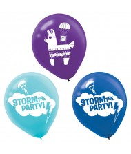 """Battle Royal"" Assorted Latex Party Balloons, ..."