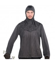 Adult Chainmail Tunic & Cowl