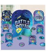 """""""Battle Royal"""" Blue Party Table Decorating ..."""