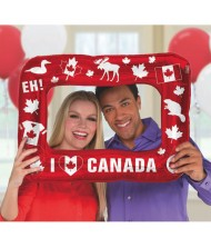 """""""Canada Day"""" Inflatable Party Frame, 17.75"""" ..."""