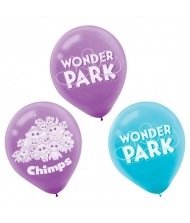 """Wonder Park"" Blue and Purple Printed ..."