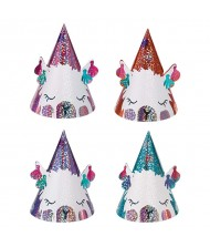 """Llama Fun"" Mini Foil Party Cone ..."