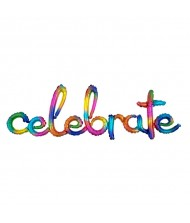 """Celebrate"" Party Letter Balloon 20"" x ..."