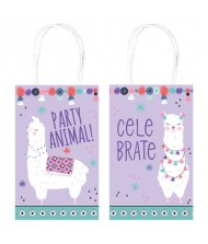 """Llama Fun"" Purple Printed Paper kraft ..."