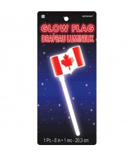 """Canada Day"" Party Glow Flag, 8"" ..."
