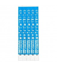 """Drinking Age Verified"" Wristbands, 500 ct., ..."