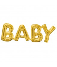 "Air-Filled Word Balloon ""Baby""