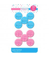 """""""Girl or Boy"""" Buttons"""