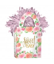 """Sweet Baby"" Mini Tote Floral Balloon ..."
