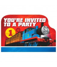 """""""Thomas All Aboard"""" Postcard Invitations, Party ..."""