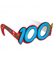 """100th Day Of School"" Party Glasses, ..."