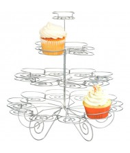 "4-Tier Wire Cupcake Stand|12"" x 13""