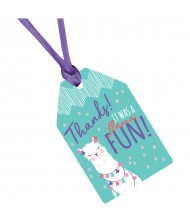 """Llama Fun"" Purple and Teal Party ..."