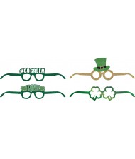 Saint Patrick's Day Deluxe Paper Glasses