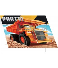 Construction Zone Party Invitation Cards - ...